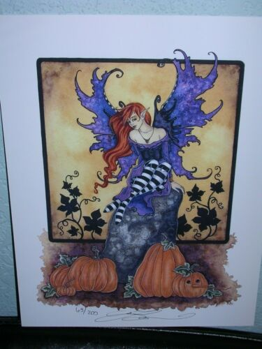 Amy Brown - Halloween Faery - Limited Edition - SOLD OUT