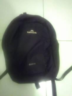 Kathmandu black rucksack