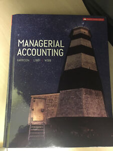 Managerial Accounting: 11th Canadian Edition- Garrison