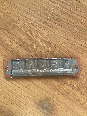 Antique Flora Harmonica Red Rare Special