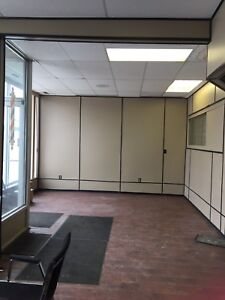 Small space downtown with great parking