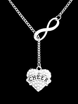 Necklace Cheer Cheerleader Cheerleading Mom Christmas Gift Lariat - Cheerleader Christmas Gifts