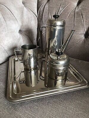 VINTAGE METAL COFFEE SET