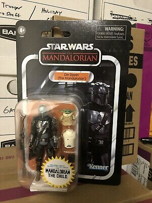 Star Wars Vintage Collection - VC177 Din Djarin - The Mandalorian w/ The Child