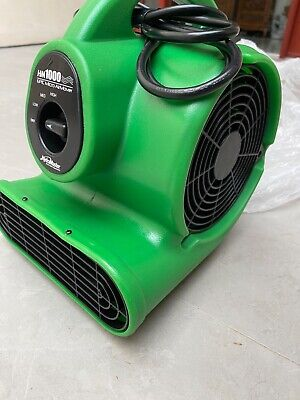 Commercial Air Mover Blower Carpet Fan To Dry Out Floor Carpets Walls.