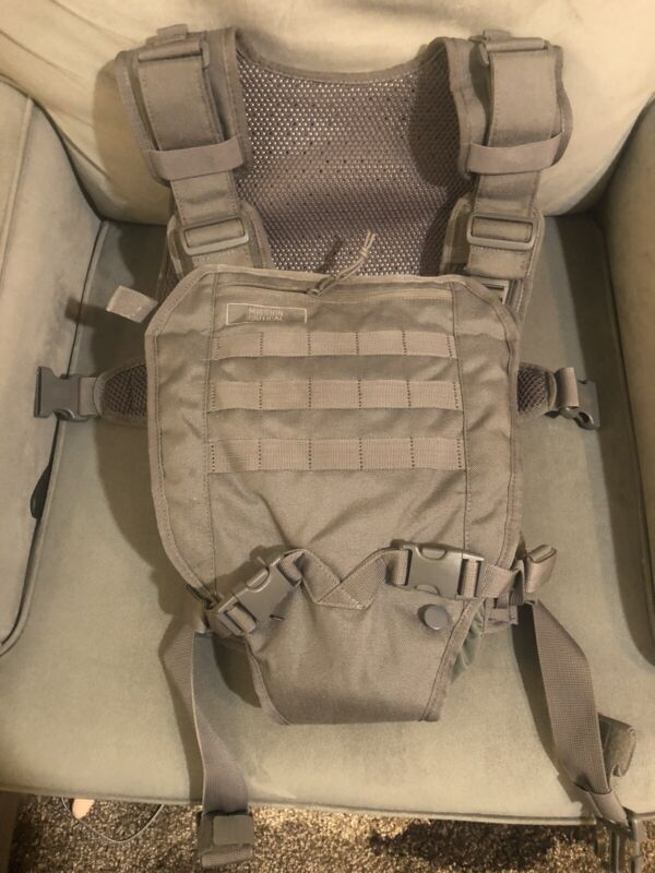 Mission Critical Tactical FRONT BABY CARRIER & DAYPACK CARRIER Bundle GRAY