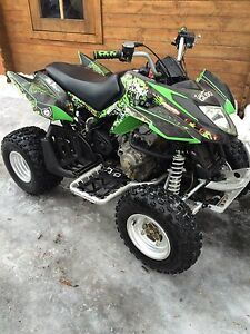 08 Arctic cat Dvx 250 with extras