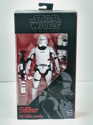 Star Wars The Black Series First Order Flametrooper #16 6 Inch New