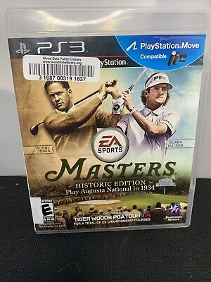 Tiger Woods PGA Tour 14: Masters Historic Edition (Sony PlayStation 3) PS3 A-2