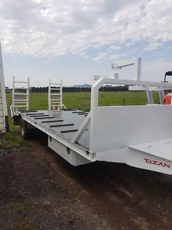 Titan single axle trailer