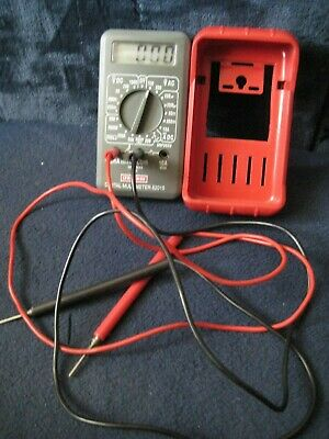 Craftsman 82015 Multimeter With Leads And Holster