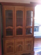 RETRO  Glass fronted bookcase. Price Dropped!! Georgetown Newcastle Area Preview