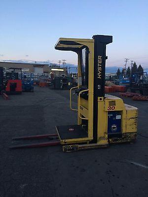 Hyster Forklift Order Picker 3000lb Capacity 198 Lift Clean 42 Forks