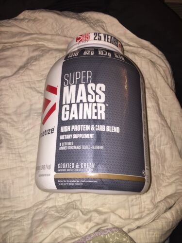 Dymatize Super Mass Gainer Cookies and Cream - 6 lbs