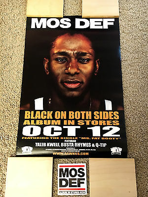 "MOS DEF ""BLACK ON BOTH SIDES"" PROMO 1999 PACK! (TALIB KWELI, BLACK STAR)"