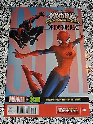 Marvel - #1 Ultimate Spider-Man Web-Warriors Spider-verse Comic Book (Ultimate Spider Man Web Warriors Spider Verse)