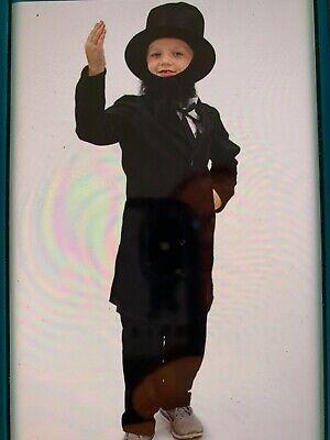 Abe Lincoln Costume Civil War Child Size Large
