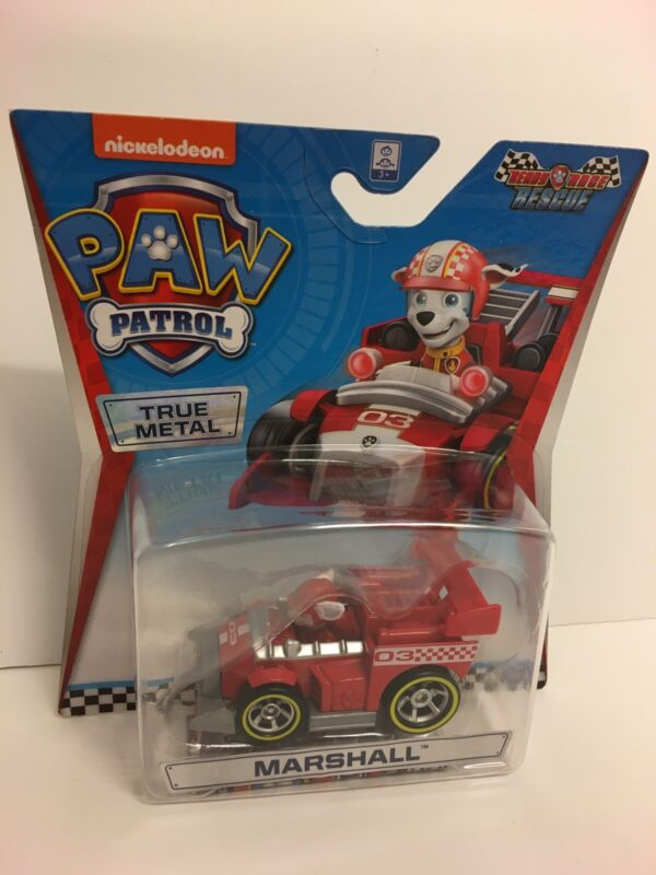 Paw+Patrol+True+Metal+Vehicle%3A+MARSHALL+Ready+Race+Rescue+-+Brand+New.+FREE+POST