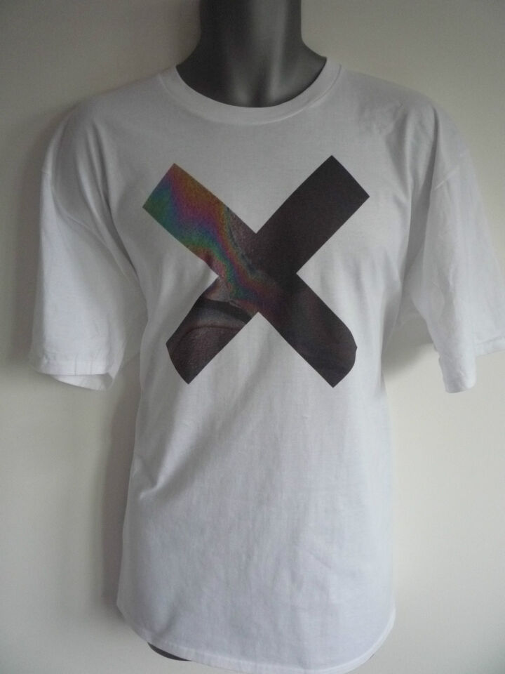 THE XX COEXIST CROSS LOGO T-SHIRT INDIE CROSS CROOKS AMSTERDAM