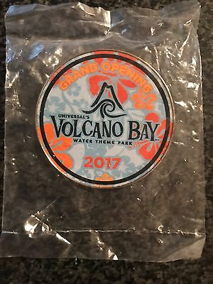 2017 Universal Studios Grand Opening Volcano Bay Pin! New Collectible Wrapped