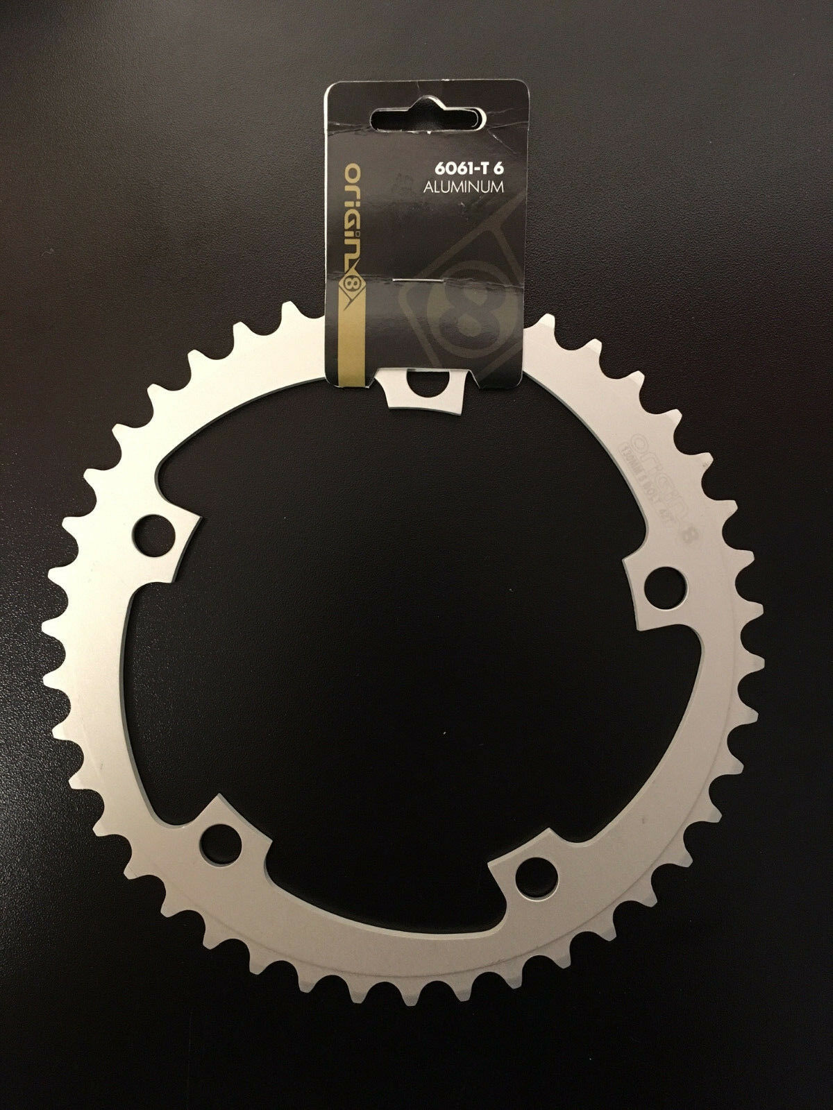 ORIGIN8 CHAINRING BMX FIXIE SINGLE SPEED 3//32 42T BLK 110//130 MADE IN THE USA