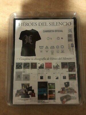 HEROES DEL SILENCIO Camiseta Oficial Talla L NUEVO PRECINTADO