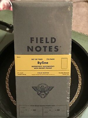 Field Notes Byline Special Edition Memo Books 2-pack 8 3-34
