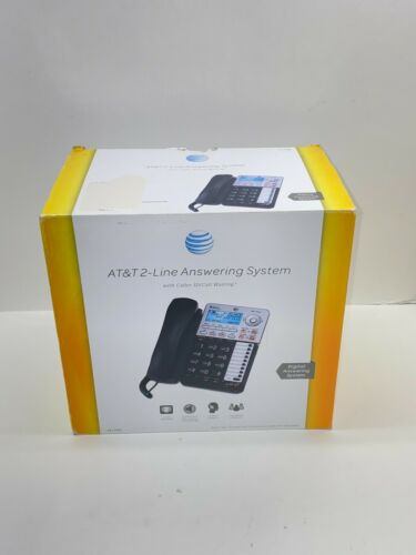 AT&T ML17939 2-Line Corded Telephone with Digital Answering System and Caller ID