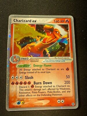 EX FireRed & LeafGreen Holographic Charizard 105/112