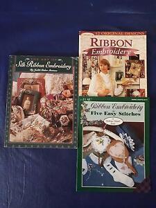 Ribbon Embroidery books Enoggera Brisbane North West Preview
