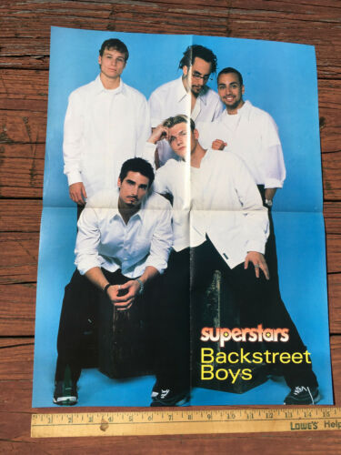 Backstreet Boys Hanson Two Sided Poster 15x20
