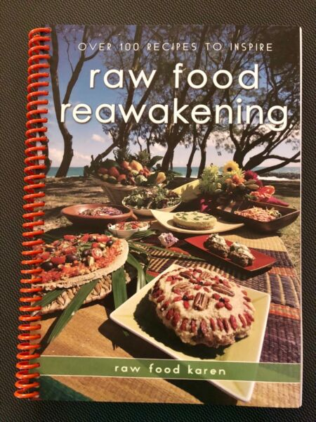 Raw food reawakening recipe book by nutritionist karen bartz gumtree does not support puppy mills raw food reawakening recipe book forumfinder Gallery
