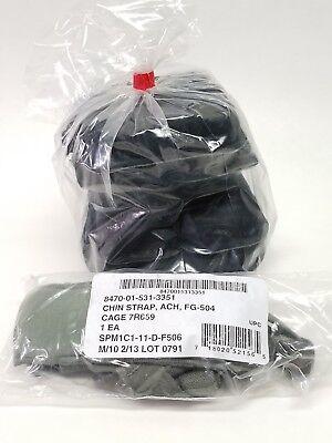 USGI ACH MICH Helmet Pad Set & Foliage Green Chin -