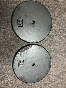 50 lbs weight plates