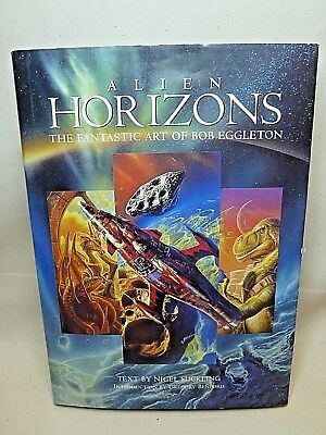 Alien Horizons The Fantastic Art of Bob Eggleton by Nigel Suckling HARD BOUND - Alien Bob