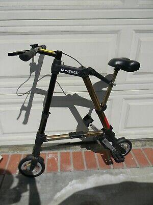 Q-BIKE Folding Bike Foldable Compact Toteable Bicycle