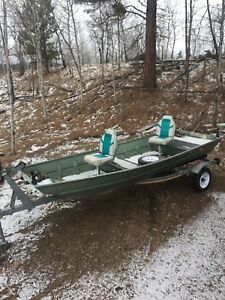 14' Fishing Boat with Trailer