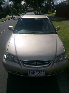 Honda Accord with Long Rego and RWC and Major service Box Hill South Whitehorse Area Preview