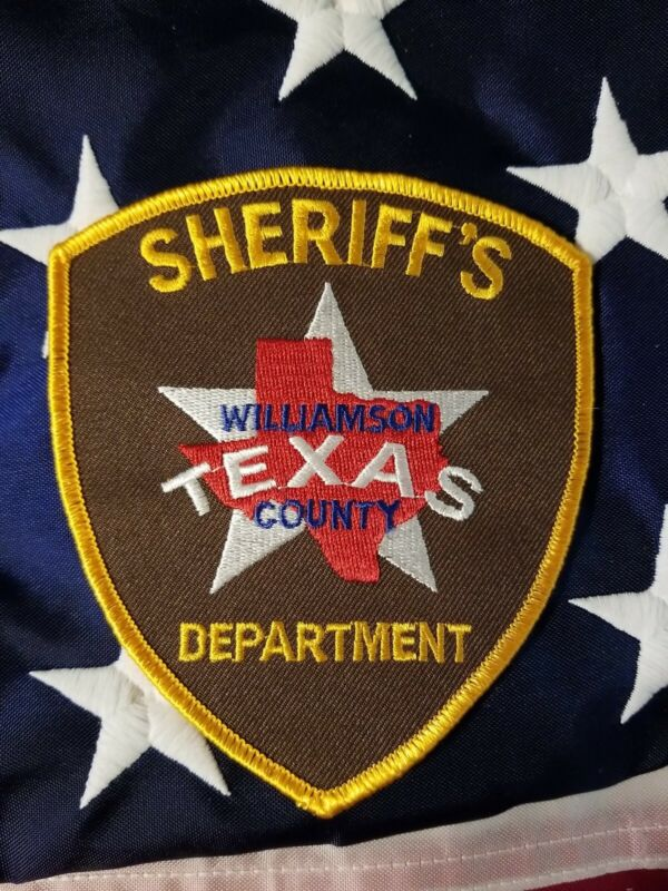 Sheriff Patch Williamson County  Texas