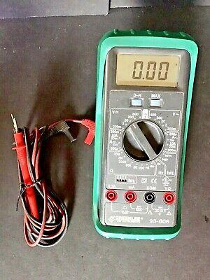 Greenlee Digital Multimeter 93-606