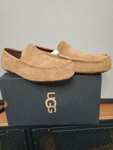 UGG Alder Men's Slippers Moccasins Chestnut Size 12 New Shea