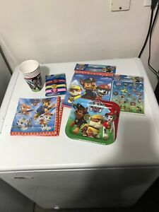 Paw Patrol Bday party supplies