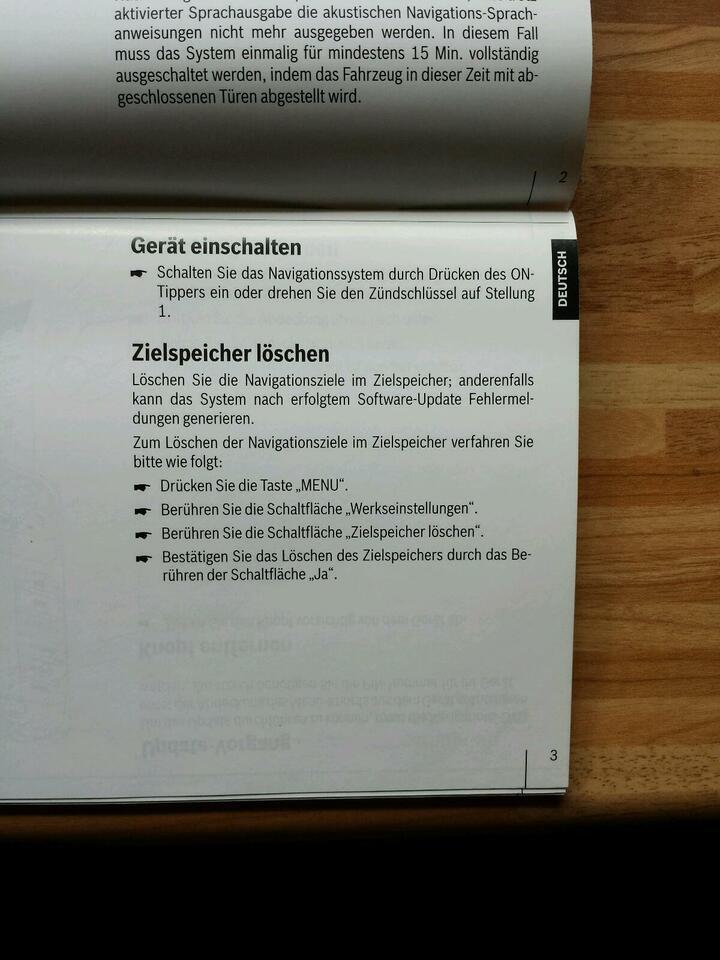 Ford Servicr Pack 4.0 SD Card Navigation System in Bredstedt