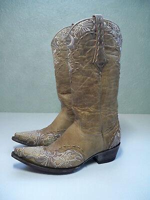 Old Gringo Ladies SZ 7 Erin Vesuvio Bone Western Wedding Boots L640-3 EXCELLENT for sale  Prescott