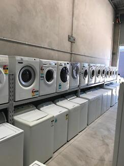 All types of washing machines with 3 months warranty