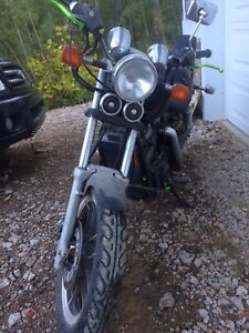 83 Honda shadow 750