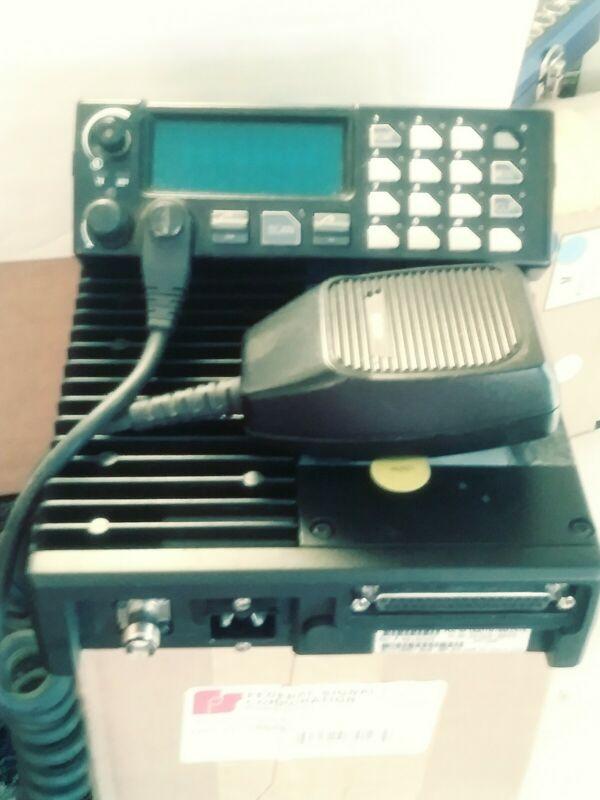 Harris MA/COM M7100 Radio w/ head & mic