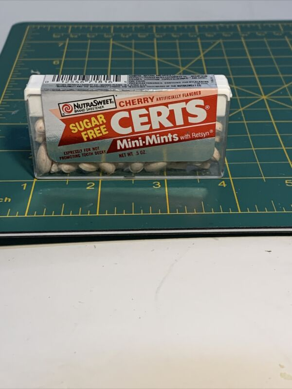 Cherry Certs Sugar Free Nutra Sweet With Retsyn