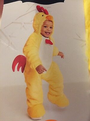 New Adorable Baby Chicken Halloween Costume Warm 0-6 Months Infant  (Adorable Baby Halloween Kostüme)
