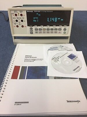 Tektronix Dmm4020 5 12 Digit Multimeter